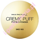Max Factor Creme Puff 5 Transucent - kryjący puder w kompakcie - 21g